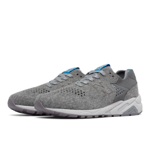 New Balance 580 Re-Engineered Wool Men's Sport Style Sneakers Shoes - Grey (MRT580DA)
