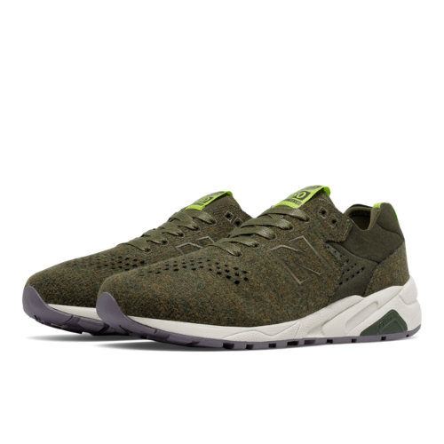 New Balance 580 Re-Engineered Wool Men's Sport Style Sneakers Shoes - Green (MRT580DF)