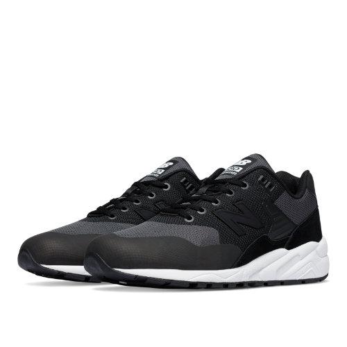 New Balance 580 Re-Engineered Woven Men's Shoes - Black / White (MRT580JB)