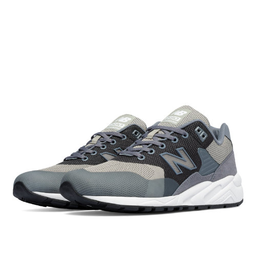 New Balance 580 Re-Engineered Woven Men's Shoes - Grey / White (MRT580JK)