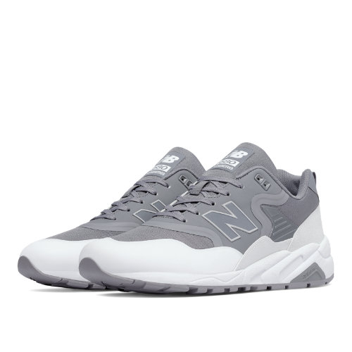 New Balance 580 Re-Engineered Men's Shoes - Gunmetal / White (MRT580TF)