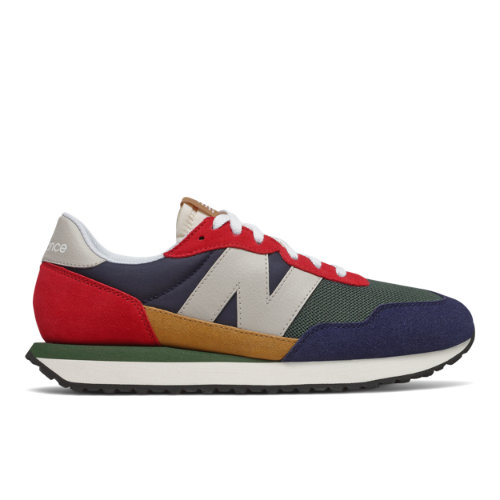 New Balance 237 Men's Lifestyle Shoes - Red / Navy (MS237LB1)