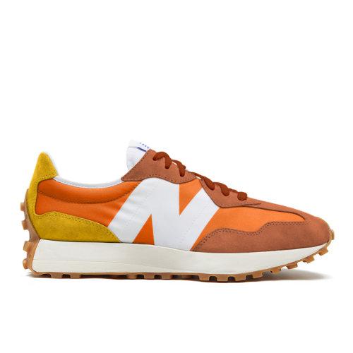 New Balance 327 Men's Sport Style Shoes - Orange (MS327CLA)