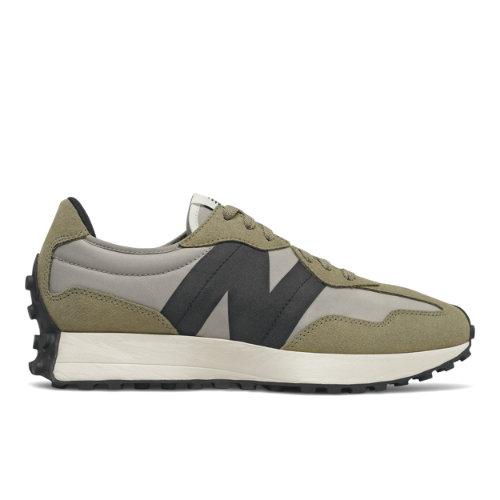 New Balance 327 Men's Lifestyle Shoes - Grey / Green (MS327IB)