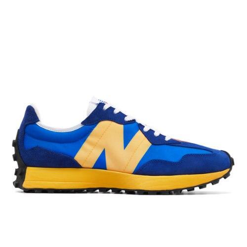 New Balance 327 Men's Lifestyle Shoes - Blue / Orange (MS327LAA)