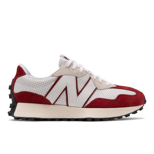 New Balance 327 Men's Lifestyle shoes - White / Red (MS327PE)