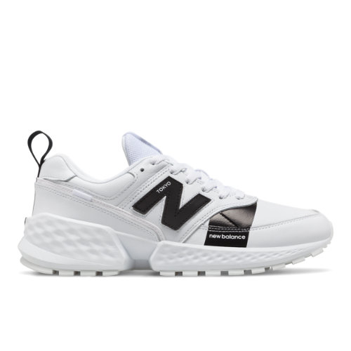 New Balance 574 Sport Flight Path Men's Sport Style Shoes - White (MS574AGC)