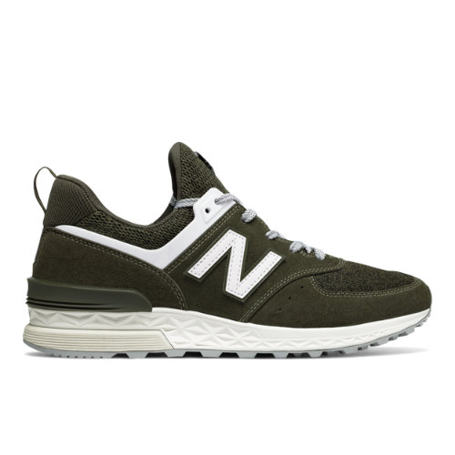 New Balance 574 Sport Men's Sport Style Sneakers Shoes - Olive (MS574BM)