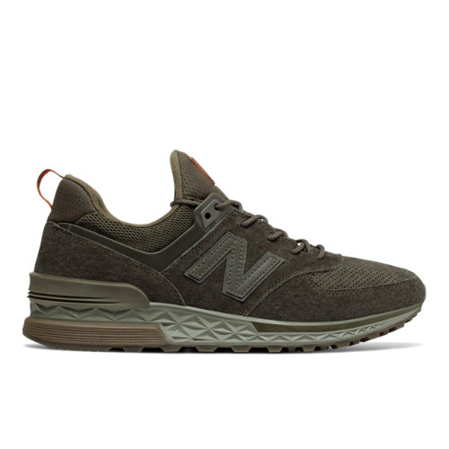 New Balance 574 Sport Men's Sport Style Sneakers Shoes - Olive (MS574CA)