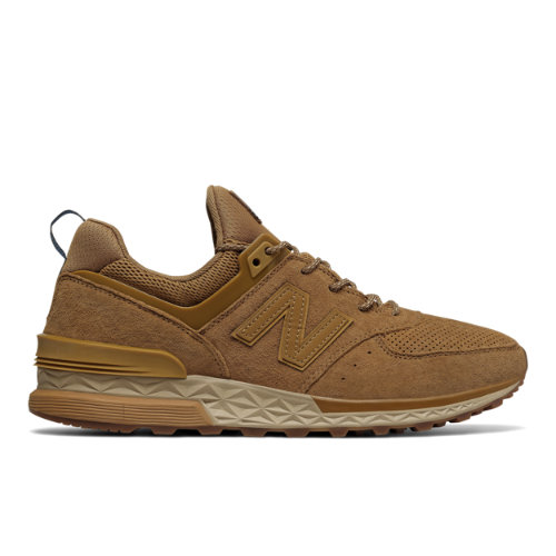 New Balance 574 Sport Men's Sport Style Sneakers Shoes - Tan (MS574CB)