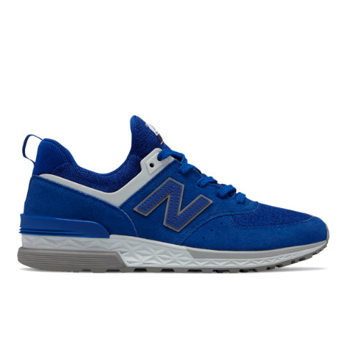 New Balance 574 Sport Men's Sport Style Shoes - Blue / Grey (MS574CD)