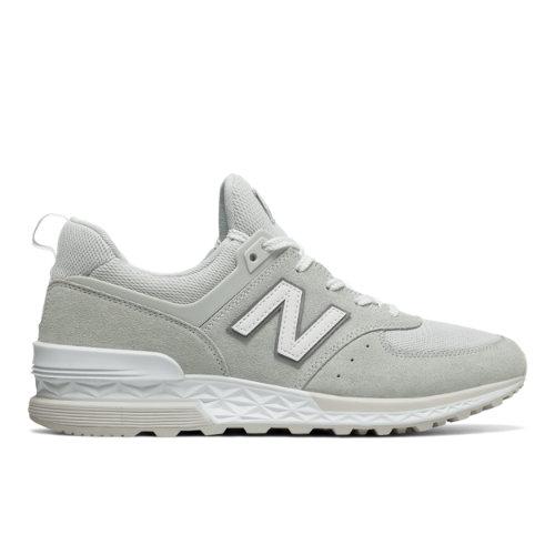 New Balance 574 Sport Men's Sport Style Shoes - White (MS574CF)