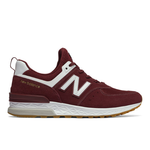 New Balance 574 Sport Men's Sport Style Shoes - Red (MS574FCW)