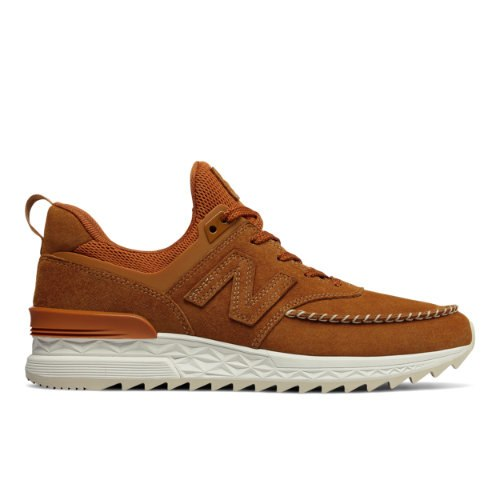 New Balance 574 Sport Men's Sport Style Shoes - Brown (MS574NAB)