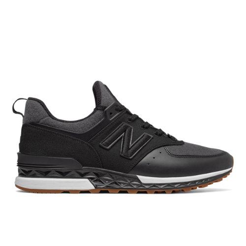 New Balance x New Era 574 Sport Men's Sport Style Sneakers Shoes - Black (MS574NE)