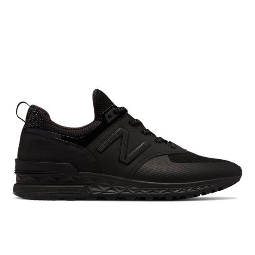 New Balance 574 Sport Men's Sport Style Sneakers Shoes - Black (MS574SCF)