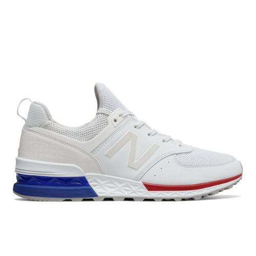 New Balance 574 Sport Men's Sport Style Sneakers Shoes - White ...