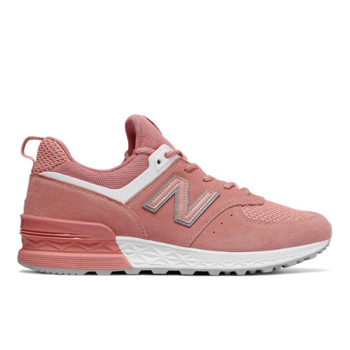 New Balance 574 Sport Men's Sport Style Sneakers Shoes - Dusted Peach (MS574STP)