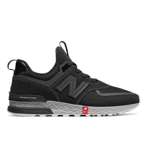 New Balance 574 Sport Men's Sport Style Shoes - Black (MS574UTB)