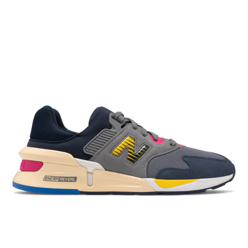 New Balance 997 Sport Men's Sport Style Shoes - Grey / Navy (MS997JAD)