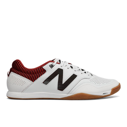 New Balance Audazo 2.0 Pro IN Men's Soccer Shoes - White / Red (MSAPIWR2)