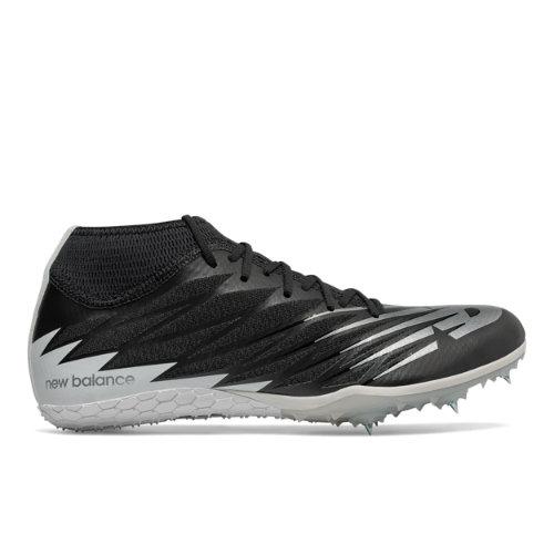 New Balance Spike 100v2 Men's Track Spikes Shoes - Black / White (MSD100B2)