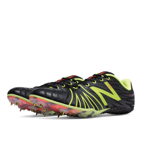 New Balance SD100 Spike Men's Track Spikes Shoes - Black, Yellow (MSD100BY)