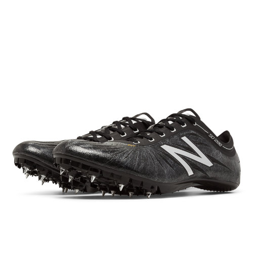 New Balance SD200v1 Spike Men's Track Spikes Shoes - Black, Silver (MSD200BS)