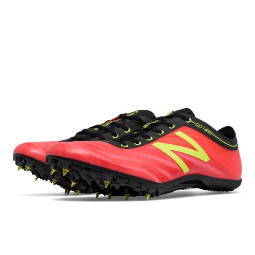 New Balance SD400v3 Spike Men's Track Spikes Shoes - Red / Yellow (MSD400P3)