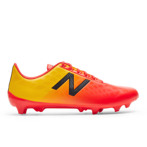 New Balance Furon v4 Dispatch FG Men's Soccer Shoes - Red / Orange (MSFDFFA4)