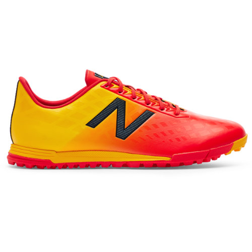 New Balance Furon v4 Dispatch TF Men's Soccer Shoes - Red / Orange (MSFDTFA4)