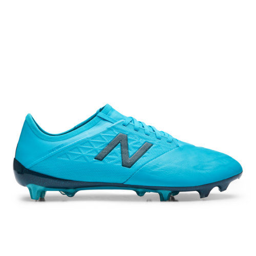 New Balance Furon v5 Pro Leather FG Unisex Soccer Shoes - Blue (MSFKFBS5)