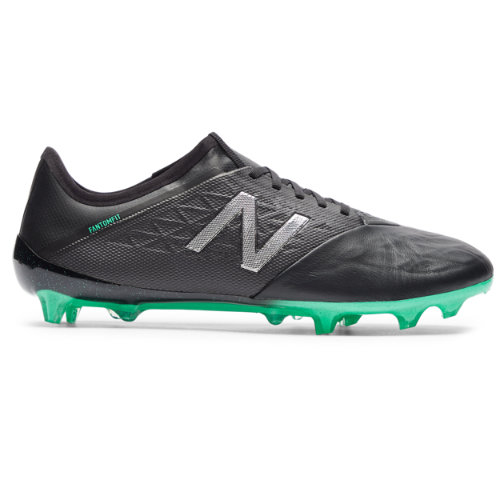 New Balance Furon v5 Pro Leather FG Men's Soccer Shoes - Black (MSFKFNB5)