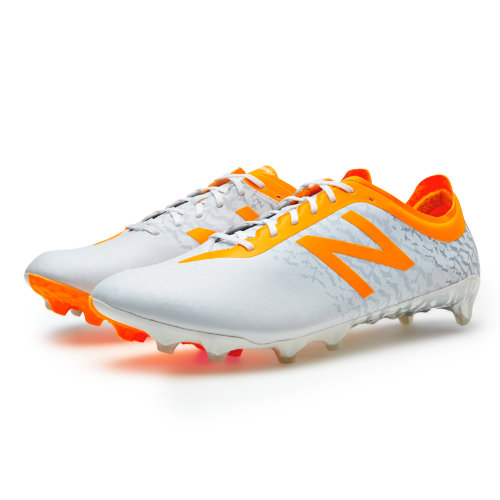 New Balance Furon 2.0 FG Apex LE Men's Soccer Shoes - White / Yellow (MSFLEFWI)
