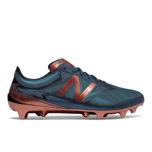 New Balance Furon 3.0 Limited Edition Men's Soccer Shoes - Sea Blue / Copper (MSFLFNC3)