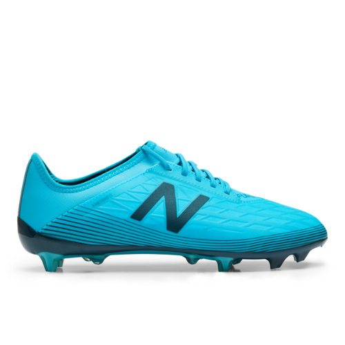 New Balance Furon v5 Destroy FG Unisex Soccer Shoes - Blue (MSFMFBS5)