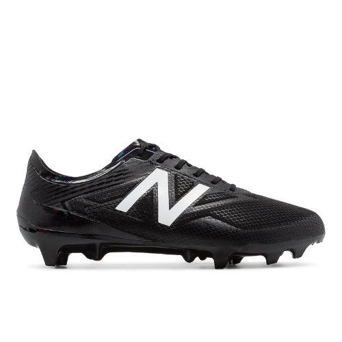New Balance Furon 3.0 Pro FG Blackout Men's Soccer Shoes - Black / White (MSFPFB33)