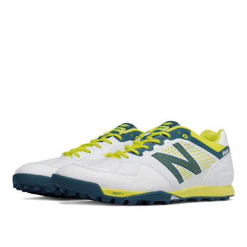 New Balance Audazo Pro Turf Men's Shoes - White / Firefly (MSSSGWF)