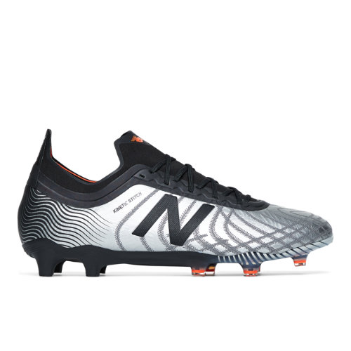 New Balance Tekela v2 Limited Edition FG Unisex Soccer Shoes - Silver / Black (MSTLFSO2)