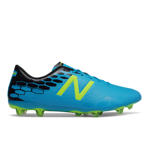 New Balance Visaro 2.0 Control FG Men's Soccer Shoes - Blue / Black / Hi-Lite (MSVCFMH2)