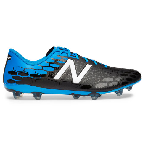 New Balance Visaro 2.0 Control FG Men's Soccer Shoes - Black / Blue / Red (MSVRCFBL)
