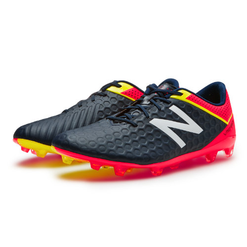 New Balance Visaro Mid Level FG Men's Shoes - Galaxy / Bright Cherry / Firefly (MSVRLFGC)