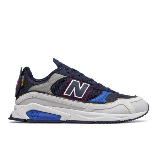 New Balance X-Racer Men's Shoes - Grey / Blue (MSXRCTRE)
