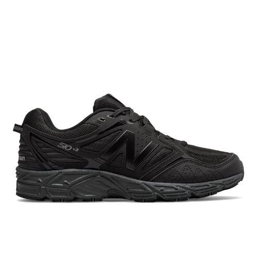 New Balance 510v3 Trail Men's Trail Running Shoes - Black / Grey (MT510CB3)