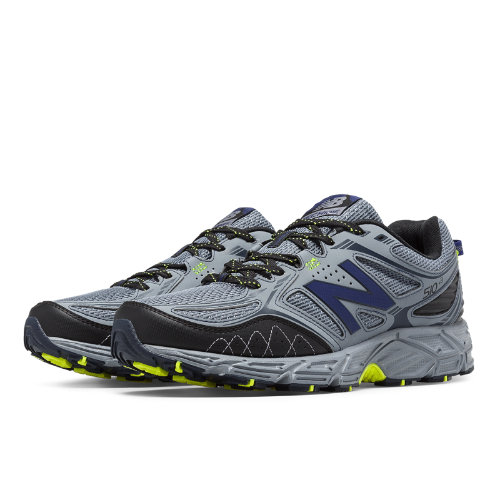 New Balance 510v3 Trail Men's Everyday Running Shoes - Grey, Navy (MT510CG3)