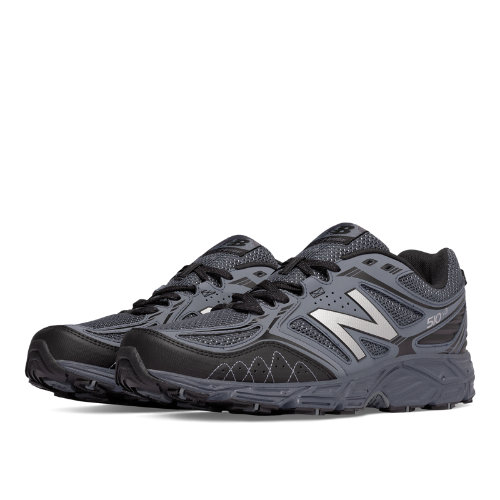 New Balance 510v3 Trail Men's Everyday Running Shoes - Thunder, Cyclone, Black (MT510LG3)