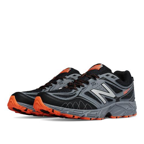 New Balance 510v3 Trail Men's Everyday Running Shoes - Black, Grey, Lava (MT510LL3)