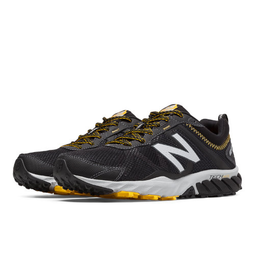 New Balance 610v5 Men's Everyday Running Shoes - Black, Gold Rush (MT610LB5)