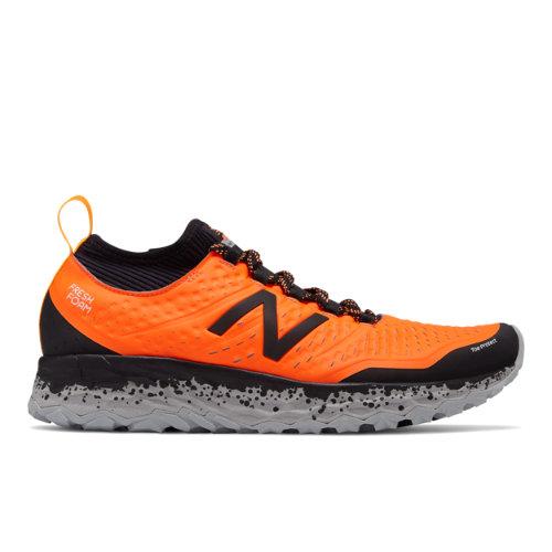 New Balance Fresh Foam Hierro v3 Men's Soft and Cushioned Shoes - Orange / Black (MTHIERA3)
