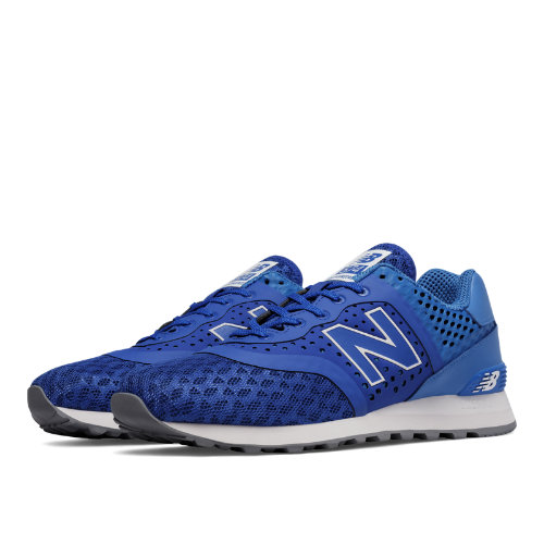 New Balance 574 Re-Engineered Men's Sport Style Sneakers Shoes - Blue / Sky (MTL574CZ)